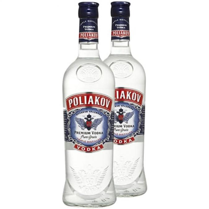 PACK PROMO Poliakov Vodka 37,5% 1L